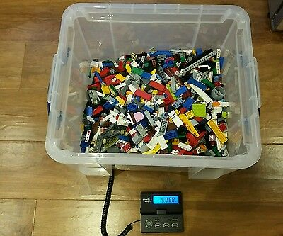 Over 5KG of Genuine Lego Bricks and Parts.