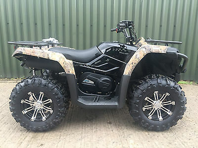 Quadzill 520 Efi Power Steering Farm Quad Bike Atv  2017 Road Legal