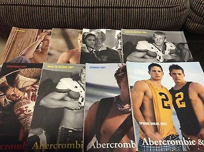 Abercrombie and Fitch Catalog Lot