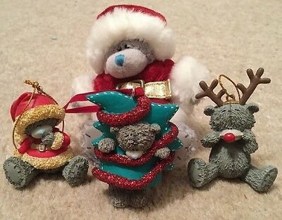 Me to You Tatty Teddy Christmas Tree Decorations set of 4