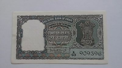 India 2 Rupees ND P-31 UNC.