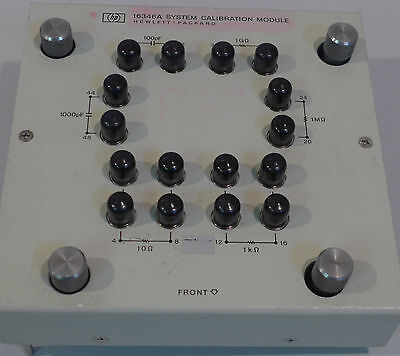 Agilent/HP 16346A Calibration Module