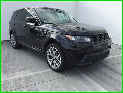2015 Land Rover Range Rover Sport 5.0L V8 Call Juan Carlos 832-506-1890 2015 5.0L SVR 550HP 24K MILES*1OWNER*LOCAL TRADE IN*CLEAN CARFAX!!