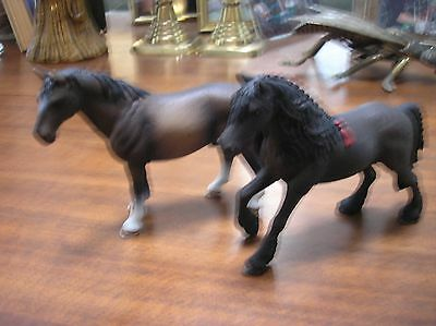 Schleich Horses, Two Horses, As New.