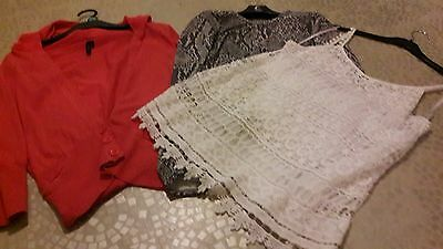 Mixed Lot of Ladies Clothes Size 12