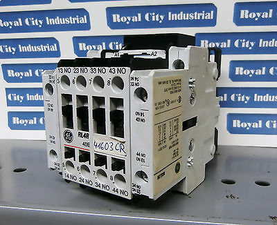 GE RL4RD040T RELAY with BCLL20 -- NEW