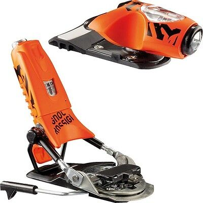 Rossignol Fks 140 Fluo (orange) B80-90mm Ski bindings