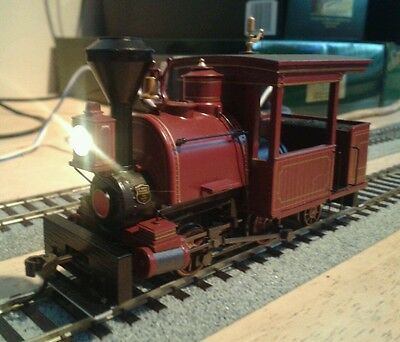 Bachmann On30 0-4-2 Porter steam loco.  DCC SOUND FITTED. Excellent condition.