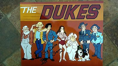 "Dukes of Hazzard  Hanna Barbara Cartoon Full Cast 1983-84 ""Signed"""