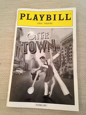 On The Town Broadway PLAYBILL