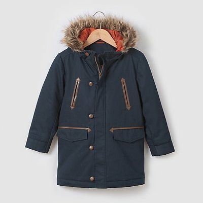 La Redoute Boys Canadian Parka  Jacket age 10 years NBW  Navy color #154