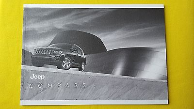 Jeep Compass official dealer paper marketing brochure February 2013 print MINT