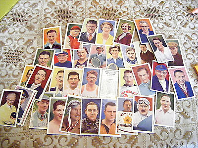"Pick-A-Card From Hill's ""celebrities Of Sport""  1939-New Cards Added"