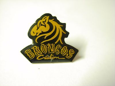 American football pin badge?  Denver Broncos?  NFL  AM January sale