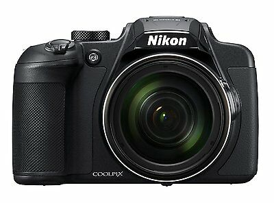 Nikon COOLPIX B700 20 Megapixel Digital SLR Camera with 60x Optical Zoom, Black