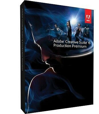 Adobe Production Premium CS6 Windows Official download with serial -Full Version