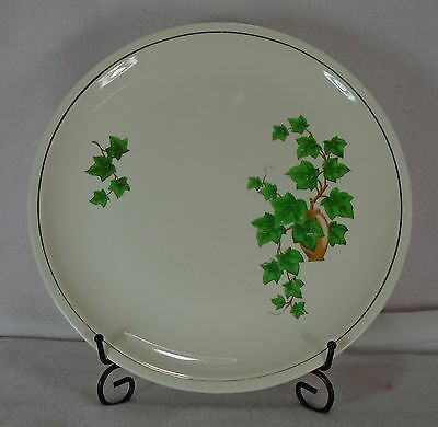 Paden City - Ivy (Gold Trim Off Edge) - Luncheon Plate