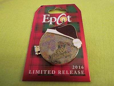 Disney EPCOT 2016 Holidays Around the World Figment Ornament Pin LR
