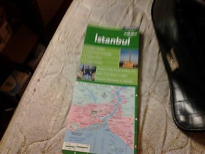 Istanbul Lonely Planet City Map