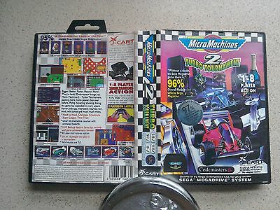 Micro Machines 2 BOX ONLY - For Sega Mega Drive Game (Fast Dispatch - PAL)