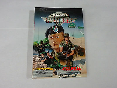 Airborne Ranger for Commodore 64 & 128 *Tested* by Micro Prose