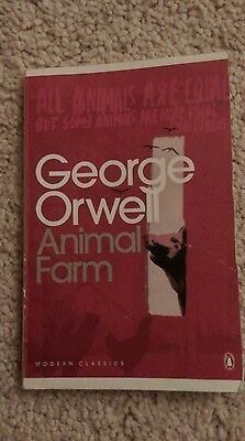 Animal Farm: A Fairy Story by George Orwell (Paperback, 2000)