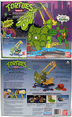 "Teenage Mutant Hero Turtles Retrocatapulta ""Tortugas Ninja"" Ban Dai Playmates"