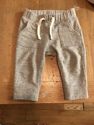 Baby Boys Trousers Jogger Bottoms Baby Gap Age 12-18months