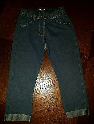 girls 12-18 months blue jeans skinny jeggings leggings clothes next day