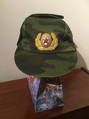 RUSSIAN MILITARY CAMOUFLAGE CAP HAT Size 58