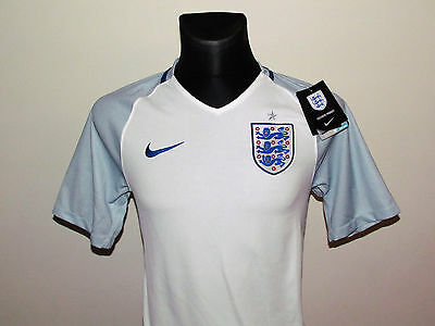 Nike New Jersey England Home Shirt 2016-17 Size S