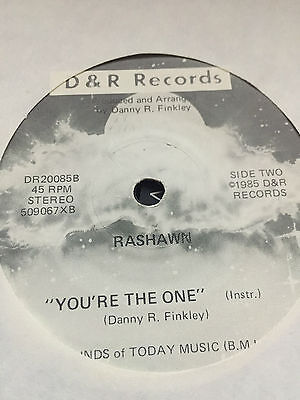 Obscure Modern Soul 80's - RASHAWN - YOU'RE THE ONE - D&R  45RPM