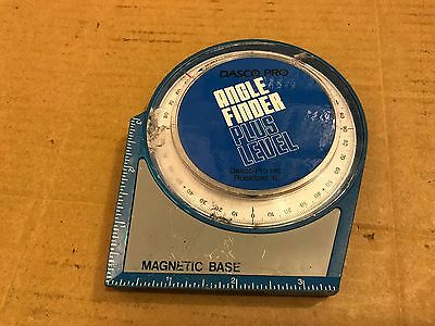 Dasco Pro Angle Finder Plus Level, Magnetic Base, Golf Playing Accessory