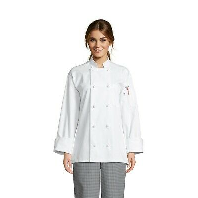 Chef Coat, 10 Knot , White, XS to 3XL, 0403 Free Shipping