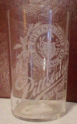 Pittsburgh Brewing Co.Pittsburgh, Pa 1899-1920 Pre-Prohibition Beer Glass