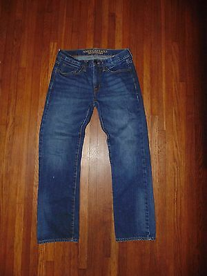~ American Eagle Jeans ~ Size 28 x 30 ~ Original Straight ~ Great Shape ~