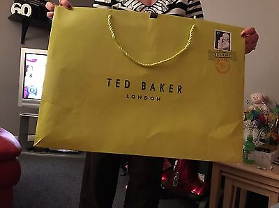 Ted Baker Extra Large Gift/ Shopping Bag