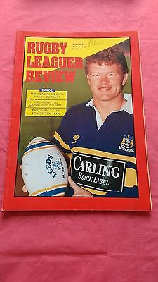 Rugby League Review Magazine No 23 August 1990