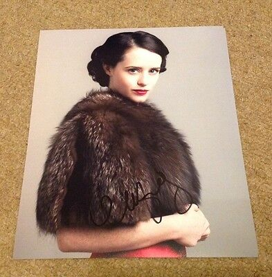 CLAIRE FOY  -  SIGNED  -  UPSTAIRS DOWNSTAIRS  10x8 COL PHOTO - UACC PROOF + COA
