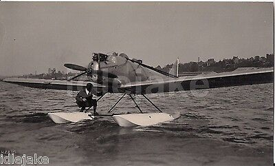 Short Brothers Rochester 1920s Medway Flying Boat Seaplane Photo
