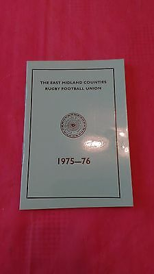 East Midlands 1975-76 Rugby Membership Card
