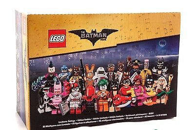 LEGO 71017 The Batman Movie Sealed Box of 60 Minifigures