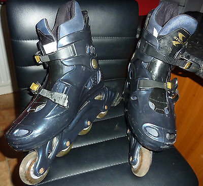 INLINE SKATES by STREETLINE Sz9 UK. REASONABLE CONDITION