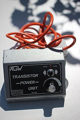 AGW Transistor Power Unit (PE 143) for model trains (14V)