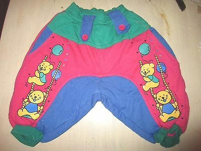 Girls or boys padded warm  Trousers  age 12 months 74 cm vgc