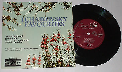 "Tchaikovsky Favourites Boris Mersson 1966 EP 7"" Single Record G/EX"