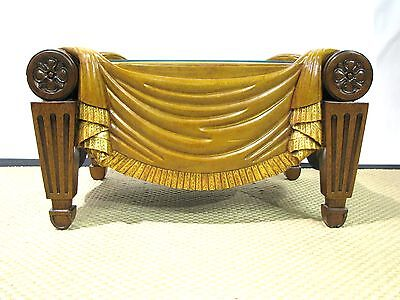 Roman Maitland-Smith Coffee Table Inspired by English Regency Original; Leather