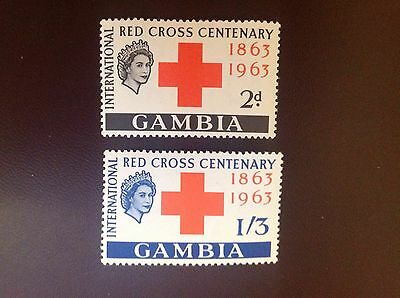Gambia 1963 Red Cross MLH