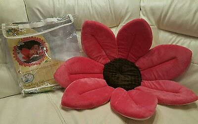 Hot Pink Blooming Baby Bath Brand New Way To Wash Baby Super Soft Plush Girl
