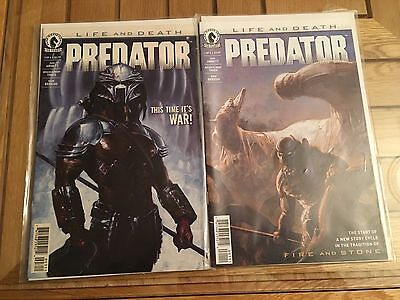 Predator Life and Death #1 & 3 NM